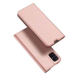 DUX DUCIS Skin Pro Bookcase típusú tok Samsung Galaxy A71 rózsaszín telefontok tok