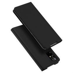 DUX DUCIS Skin Pro Bookcase típusú tok Samsung Galaxy S20 Plus fekete telefontok hátlap tok