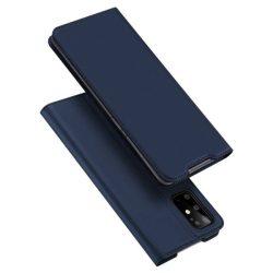 DUX DUCIS Skin Pro Bookcase típusú tok Samsung Galaxy S20 Plus kék telefontok hátlap tok