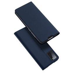DUX DUCIS Skin Pro Bookcase kihajtható tok típusú tok Samsung Galaxy A41 kék telefontok