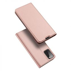DUX DUCIS Skin Pro Bookcase kihajtható tok típusú tok Samsung Galaxy A41 rózsaszín telefontok