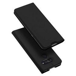 DUX DUCIS Skin Pro flipes típus LG K50S fekete telefontok