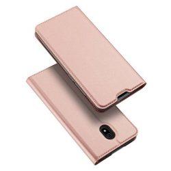 DUX DUCIS Skin Pro Bookcase típusú tok Xiaomi redmi 8A rózsaszín telefontok hátlap tok