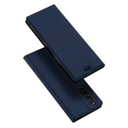 DUX DUCIS Skin Pro Bookcase típusú tok Sony Xperia 5 kék telefontok tok