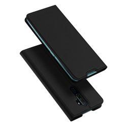 DUX DUCIS Skin Pro Bookcase típusú telefontok OPPO A9 (2020) / Oppo A5 (2020) fekete telefontok hátlap tok