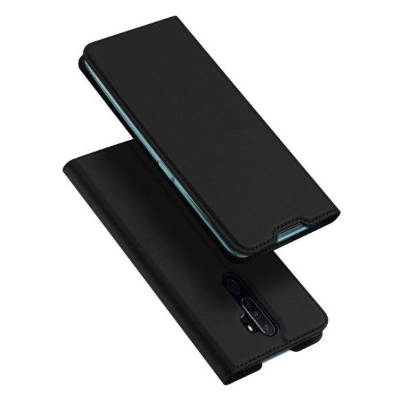 DUX DUCIS Skin Pro Bookcase típusú telefontok OPPO A9 (2020) / Oppo A5 (2020) fekete telefontok tok