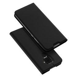 DUX DUCIS Pro Flipes tok Huawei Mate Lite 30 fekete tok telefon tok hátlap