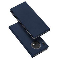 DUX DUCIS Pro Flipes tok Huawei Mate 30 kék tok telefon tok hátlap