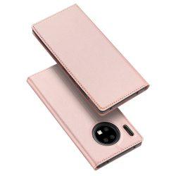 DUX DUCIS Pro Flipes tok Huawei Mate Pro 30 rózsaszín tok telefon tok hátlap