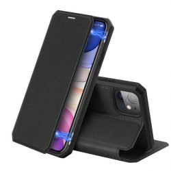 DUX DUCIS Skin X Bookcase típusú tok iPhone 11 fekete telefontok tok