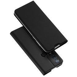 DUX DUCIS Pro Flipes tok Motorola Action Egy fekete telefon tok telefontok