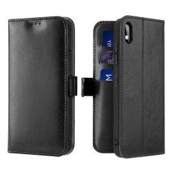 Dux Ducis Kado Flipes tárca típusú tok a Samsung Galaxy A10 fekete tok telefon tok hátlap
