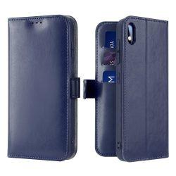 Dux Ducis Kado Flipes tárca típusú tok a Samsung Galaxy A10 kék tok telefon tok hátlap