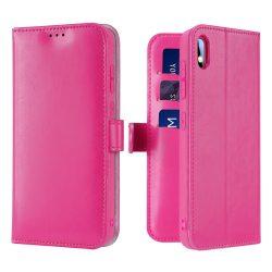 Dux Ducis Kado Flipes tárca típusú tok a Samsung Galaxy A10 rózsaszín tok telefon tok hátlap