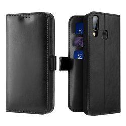 Dux Ducis Kado Flipes tárca típusú tok a Samsung Galaxy fekete A20e tok telefon tok hátlap