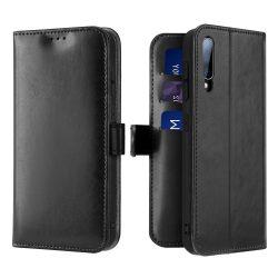 Dux Ducis Kado Flipes tárca típusú tok a Samsung Galaxy A70 fekete telefon tok telefontok (hátlap)