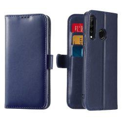 Dux Ducis Kado tárca típusú Flipes tok Huawei P30 Lite blue tok telefon tok hátlap