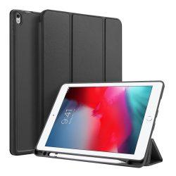 """DUX DUCIS Osom TPU gél tablet fedél több szögben álljon és a Smart Elalvás funkció iPad Pro 10.5 """""""" 2017 / iPad Air 2019 fekete tok telefon tok hátlap"""