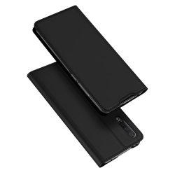 DUX DUCIS Skin Pro könyvtartó típusú ügy Xiaomi Mi CC9e / Xiaomi Mi A3 fekete telefon tok telefontok (hátlap)