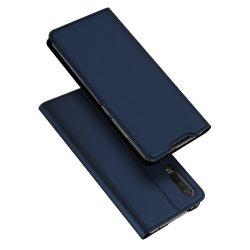 DUX DUCIS Skin Pro Könyvtartó típus tok Xiaomi Mi CC9e / Xiaomi Mi A3 kék telefon tok telefontok (hátlap)