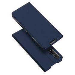DUX DUCIS Skin Pro Könyvtartó típus tok Huawei Honor 20 kék tok telefon tok hátlap