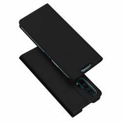 DUX DUCIS Skin Pro Könyvtartó típus tok Huawei Honor 20 Pro fekete tok telefon tok hátlap