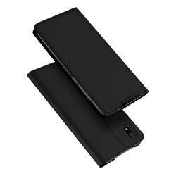 DUX DUCIS Skin Pro Könyvtartó típus tok Xiaomi redmi 7A fekete tok telefon tok hátlap