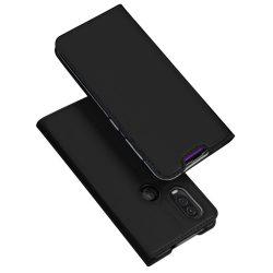 DUX DUCIS Skin Pro Könyvtartó típus tok Motorola One Vision fekete tok telefon tok hátlap