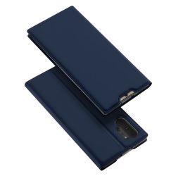 DUX DUCIS Skin Pro Könyvtartó típus tok Samsung Galaxy Note 10 Plus kék tok telefon tok hátlap
