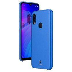 DUX DUCIS Skin Lite PU bőr tok Xiaomi redmi 7 kék tok telefon tok hátlap