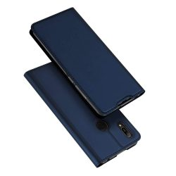 DUX DUCIS Skin Pro Flipes tok telefon tok Huawei S6 2019 / Honor 8A Pro kék
