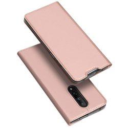 DUX DUCIS Skin Pro Flipes tok telefon tok OnePlus 7 Pro rózsaszín