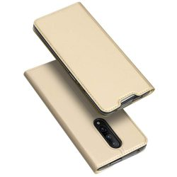 DUX DUCIS Skin Pro Booktelefon tok hátlap tok típusú tok telefon tok OnePlus 7 Pro arany