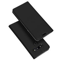 DUX DUCIS Skin Pro Flipes tok telefon tok LG G8 ThinQ fekete