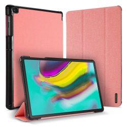 DUX DUCIS Domo Tablet Cover állítható állvány és a Smart Sleep funkció Samsung Galaxy Tab S5E T720 T725 pink tok telefon tok hátlap