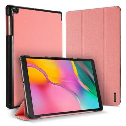 DUX DUCIS Domo Tablet Cover állítható állvány és a Smart Sleep funkció Samsung Galaxy Tab 10.1 A 2019 T515 T510 pink telefon tok telefontok