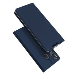 DUX DUCIS Skin Pro Könyvtartó típus tok Samsung Galaxy A20e kék tok telefon tok hátlap