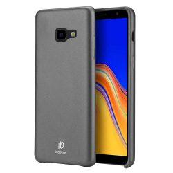 DUX DUCIS Skin Lite PU bőr tok Samsung Galaxy J4 Plus 2018 J415 fekete tok telefon tok hátlap