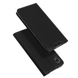 DUX DUCIS Skin Pro Könyvtartó típus tok Samsung Galaxy A10 fekete tok telefon tok hátlap