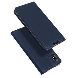 DUX DUCIS Skin Pro Könyvtartó típus tok Samsung Galaxy A10 kék tok telefon tok hátlap