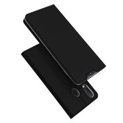 DUX DUCIS Skin Pro Könyvtartó típus tok Samsung Galaxy A40 fekete tok telefon tok hátlap