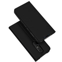 DUX DUCIS Skin Pro Flipes tok telefon tok Nokia 4.2 fekete