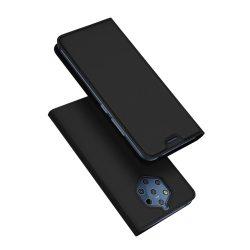 DUX DUCIS Skin Pro Könyvtartó típus tok Nokia 9 PureView fekete tok telefon tok hátlap