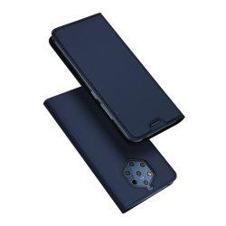 DUX DUCIS Skin Pro Könyvtartó típus tok Nokia 9 PureView kék tok telefon tok hátlap