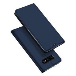 DUX DUCIS Skin Pro Flipes tok telefon tok Samsung Galaxy S10e kék