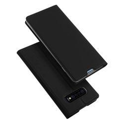 DUX DUCIS Skin Pro Flipes tok telefon tok Samsung Galaxy S10 Plus fekete