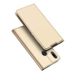 DUX DUCIS Skin Pro Flipes tok telefon tok Xiaomi redmi 7 NOTE arany