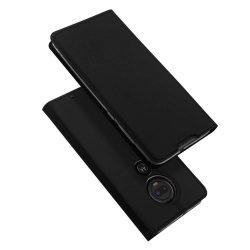 DUX DUCIS Skin Pro Flipes tok telefon tok Motorola Motorola G7 / G7 Plus fekete