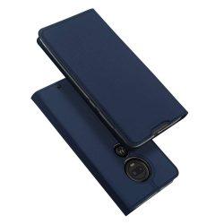 DUX DUCIS Skin Pro Flipes tok telefon tok Motorola Motorola G7 / G7 Plus kék