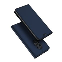DUX DUCIS Skin Pro Könyvtartó típus tok Motorola Moto G7 Power kék tok telefon tok hátlap